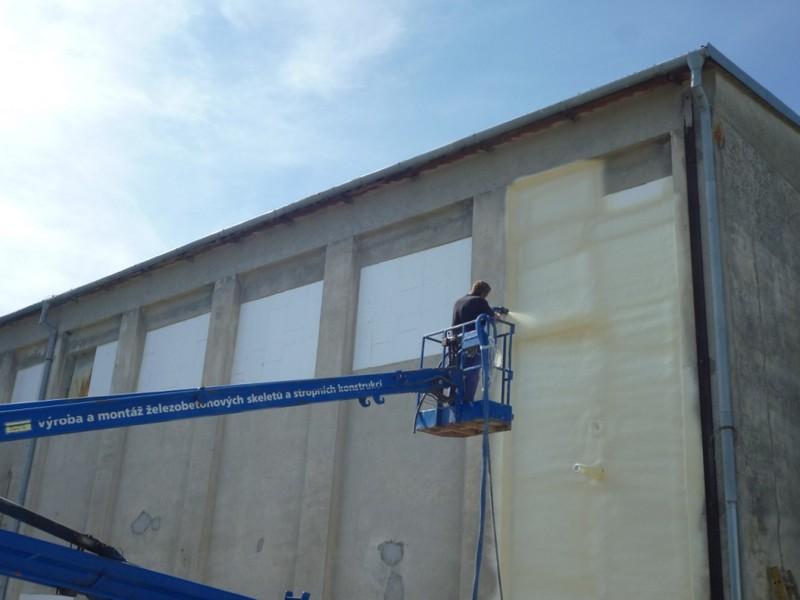 Izolace fasády
